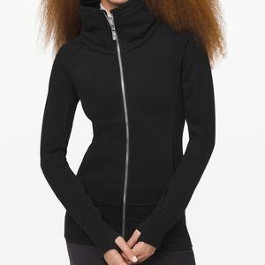 Lululemon black Radiant zip jacket size 8